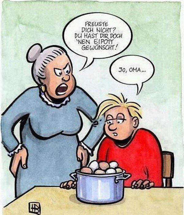 Blonde oma ficken